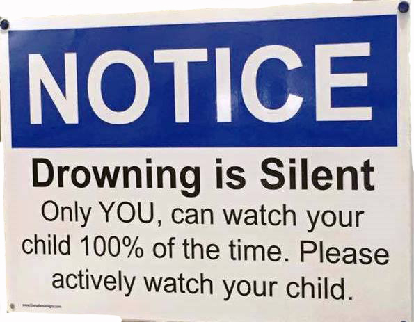 Drowning is Silent:  The Signs of Drowning